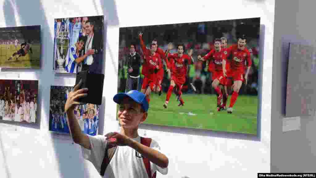 В музее УЕФА каждый может найти свой любимый клуб...