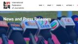 2018 Reverses Downward Trend In Killings Of Journalists Aand Media Staff (IFJ) - graphic for JIT log