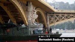 Аварія на Дунаї трапилася пізно ввечері 29 травня