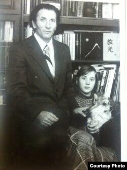 Паліна Качаткова з бацькам Уладзімерам Качатковым