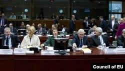 Встреча министров иностранных дел Евросоюза. Брюссель, 23 января 2012 года.