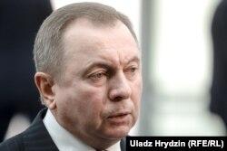 Міністр закордонний справ Білорусі Володимир Макей