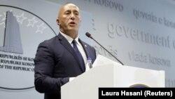 Kryeministri në dorëheqje i Kosovës, Ramush Haradinaj