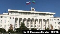 Здание правительства Дагестана, архивное фото