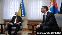 Nada u bolje srpsko - hrvatske odnose: Aleksandar Vučić i Dragan Čović u Beogradu