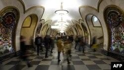 """Станция """"Новослободская"""" московского метрополитена"""