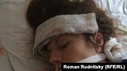 Екатерина Паливода в больнице