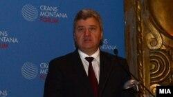 """Претседателот Ѓорге Иванов зборува во Брисел на Форумот """"Кран Монтана"""""""