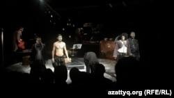 Постановка спектакля «Ер Тостык» в театре АРТиШОК.