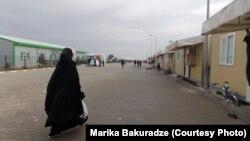 La o tabără de refugiați sirieni în Siria