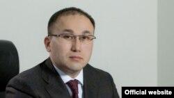 Даурен Абаев в бытность советником президента Казахстана и его пресс-секретарем.