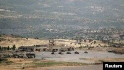 نیروهای نظامی ترکیه در کوههای منطقهای در شمال عراق