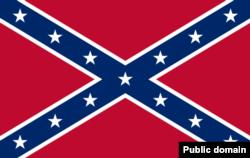 Боевое знамя Теннессийской армии КША, ставшее наиболее узнаваемым символом американского Юга