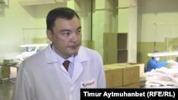 Управляющий директор фармацевтической компании «Ромат» Тимур Сексенов. Павлодар, 29 сентября, 2016 года.