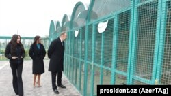Prezident İlham Əliyev və ailə üzvləri Zirədə eko-parkda