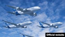 Літаки Airbus (ілюстраційне фото)