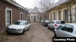 Беларускія дамкі ў Вільні, якія належалі Друйскай парафіі (архіўнае фота)
