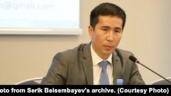 Эксперт исследовательской группы PaperLab, социолог Серик Бейсембаев.