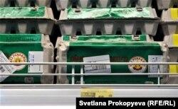 Цены на яйца в Пскове