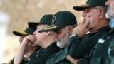 General Qassem Soleimani (center) heads the elite Quds Force of Iran's Islamic Revolutionary Guards Corps.