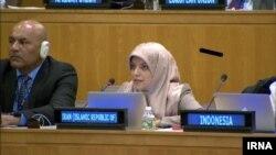 Zahra Ershadi, Iranian diplomat at UN