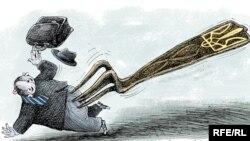 Карикатура Олексія Кустовського
