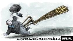 Політична карикатура. Автор – Олексій Кустовський