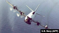 Американский самолет-разведчик EP-3E ARIES II