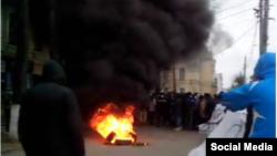 Біля Вінницької ОДА, 6 грудня 2014 року