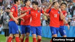 Түштүк Кореянын командасы.