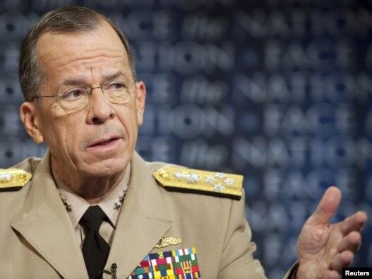 دریاسالار مایکل مالن، رئیس ستاد مشترک ارتش آمریکا