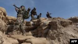 Оогандардын улуттук армиясы. Баглан провинциясы.