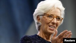 Shefja e Fondit Monetar Ndërkombëtar, Christine Lagarde