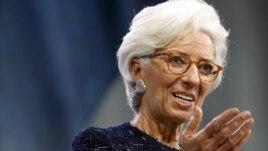 International Monetary Fund chief Christine Lagarde