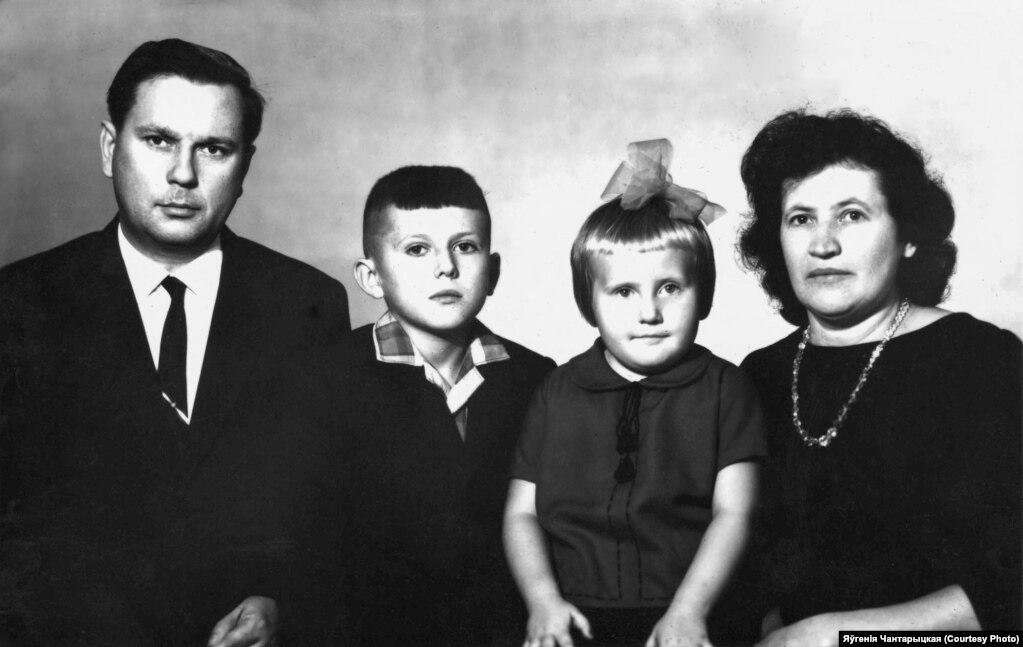 Рэнюсь, Эдмонд, Ларыса і Надзея Шэмісы. Маладэчна. 1968 год
