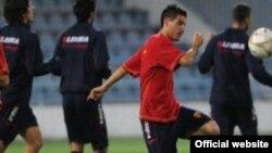 Trening crnogorske reprezentacije, 2011.