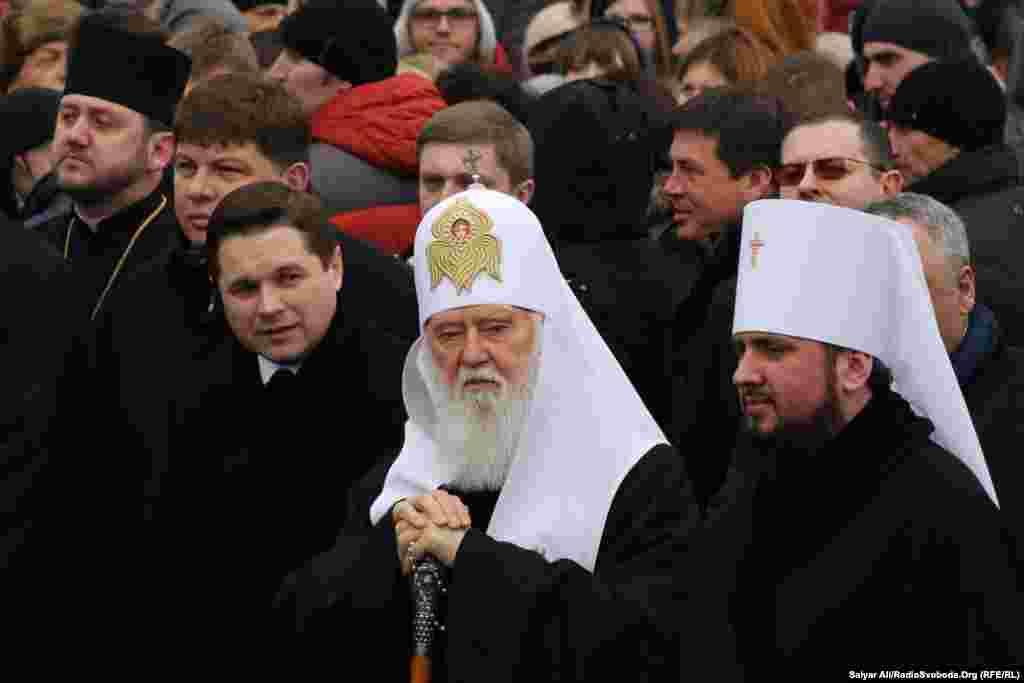 Глава Української православної церкви Київського патріархату Філарет