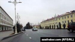 Aşgabat, ozalky Lenin, häzir Türkmenbaşy köçesi