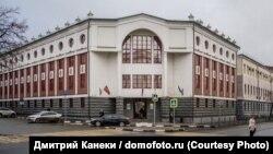Здание МВД, где располагается УБОП