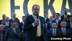 Главный тренер команды «Кайрат» Владимир Вайсс. Алматы, 19 ноября 2015 года.