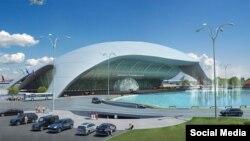 Проект нового терминала Симферопольского аэропорта