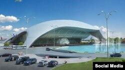 Проект нового терминала в Симферопольском аэропорту