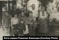 Нащадки Ізидора Хоменця, фото із архіву Ярослави Матійків