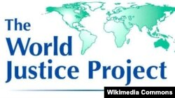 World Justice Project ташкилоти логотипи.
