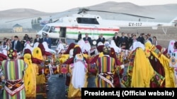 Dildor Maqsudshoev was among a group of local officials accompanying President Emomali Rahmon during his visit to towns and villages in Gorno-Badakhshan.