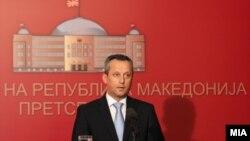 Претседателот на Собранието на Македонија Трајко Вељаноски.