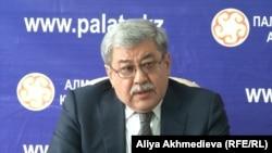 Гани Касымов, председатель совета по защите прав предпринимателей в сенате парламента. Алматинская область, ноябрь 2015 года.
