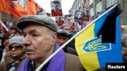 Багатотисячний марш Москвою пам'яті Нємцова
