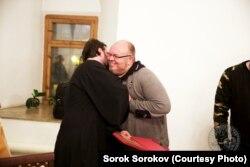 Со священником Андреем Ткачевым