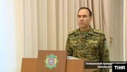 Экс-генеральный прокурор Туркменистана Аманмырат Халлыев.